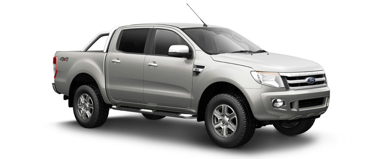 Ford Ranger Double Cab 4x4 4WD pickup truck