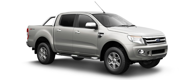 Ford Ranger Double Cab 4x2 2WD Hilander pickup truck