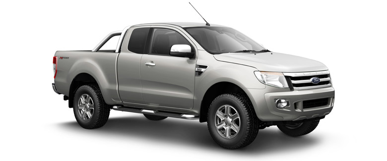 Ford Ranger Open Extra Cab 4x2 2WD Hi-rider pickup truck