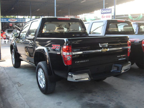 Chevy Colorado 2008 rear - Get your Chevy now at Jim Autos Thailand and Jim 4x4 Thailand