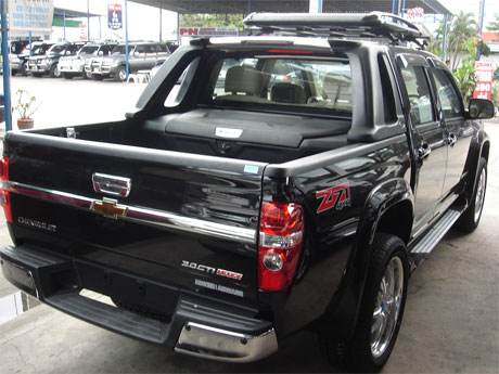 Chevy Colorado 2008 accessorized rear view - Get your Chevy now at Jim Autos Thailand and Jim 4x4 Thailand