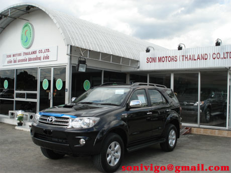 Soni is shipping Toyota Fortuner 2009 now