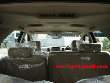 personalized ac TOyota Fortuner 2009